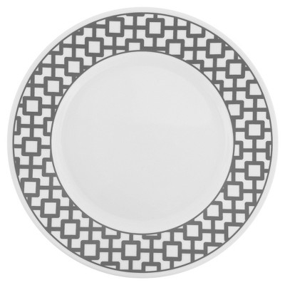 Corelle Impressions Urban Grid Dinner Plate