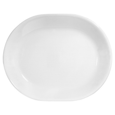 Corelle Livingware Winter Frost White 12.25in Serving Platter