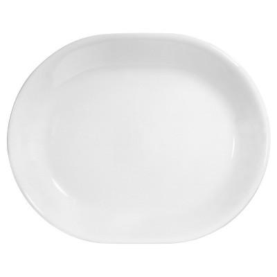Corelle Livingware Winter Frost White 12.25in Serving Platter