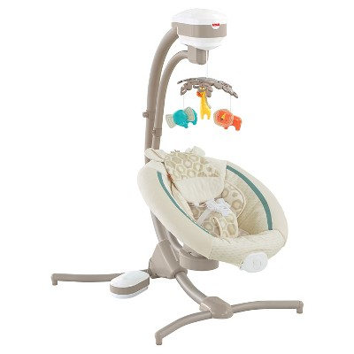 Fisher-Price Full-size Swing Cream Warm Beige