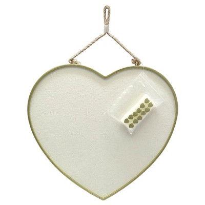 Hanging Heart Pin Board