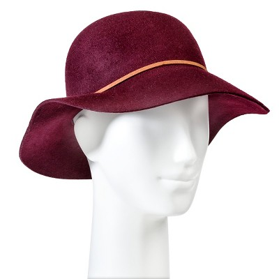 Women's Felight Floppy Hat Burgundy - Merona™