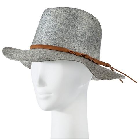 s felight fedora hat gray merona target