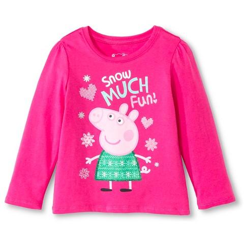 Toddler Girls' Peppa T-Shirt - Pink