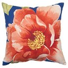 Threshold™ Outdoor Pillow - Coral Flower