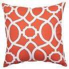 Threshold™ Outdoor Pillow - Coral Trellis