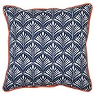 Threshold™ Outdoor Pillow - Navy Frond