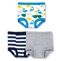 Gerber® Toddler Boys' Dinosaur 3-Pack Training Pant - Blue