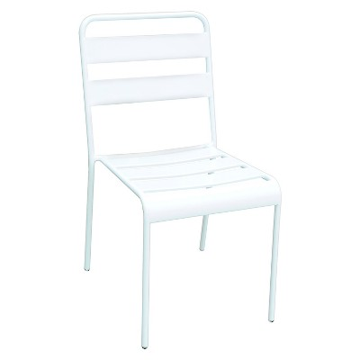 Metal Stack Patio Chair White - Room Essentials™