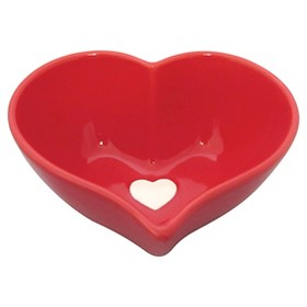 Red Heart Candy Dish