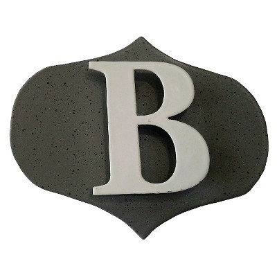 Threshold™ Screen Décor Monogram B