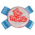 Vinyl Heart / Be Mine Pet Collar Slide