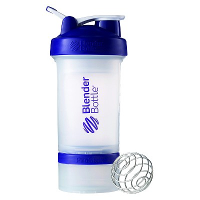 Blender Bottle ProStak Bottle 22 oz -  Clear/Purple