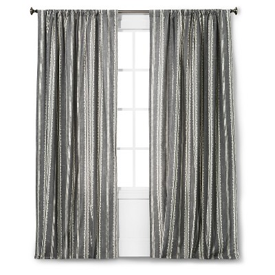 "Edison Curtain Panel - Grey - 84""- The Industrial Shop™"