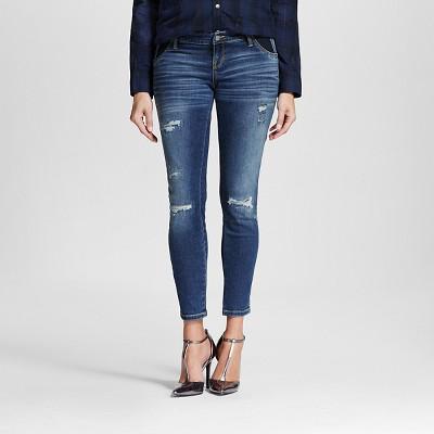 Maternity Inset Under the Belly Ankle Skinny Jean - Medium Wash M - Liz Lange® for Target