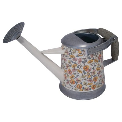 Threshold™ Galvanized Floral Watering Can