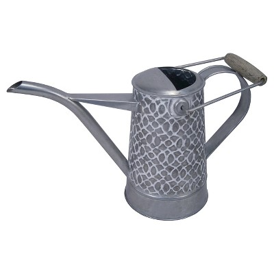 Threshold™ Small Galvanized Embossed Watering Can