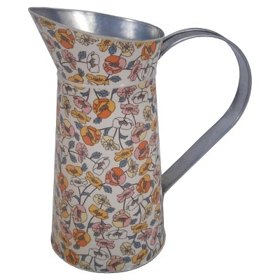 Threshold™ Galvanized Floral Watering Pitcher