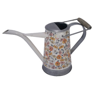 Threshold™ Small Galvanized Floral Watering Can