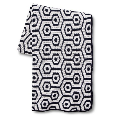 In2Green for Target Recycled Cotton Throw - Marine Geo