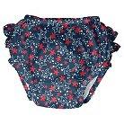I Play Baby Girls' Starfish Swim Diaper - Navy