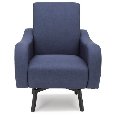 Delta Children Lux Swivel Chair - Steel Blue