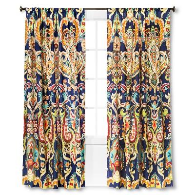 Mudhut™ Zaayan Geo Drape Curtain Panel