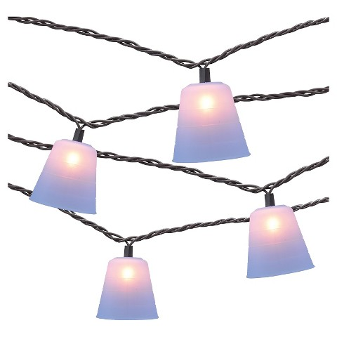 Colored String Lights Target : 10 count Decorative String Lights - Silicone Con... : Target