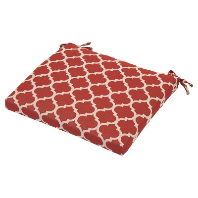Outdoor Seat Cushion - Red Ogee - Threshold™