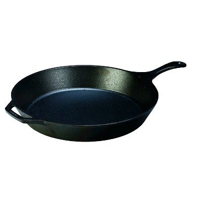 "Lodge 15"" Seasoned Cast Iron Skillet"
