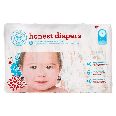 Honest Company  Diapers Balloons Jumbo Pack - Size 3  (34 Count)