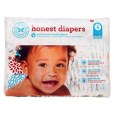 Honest Company  Diapers Balloons Jumbo Pack - Size 4  (29 Count)