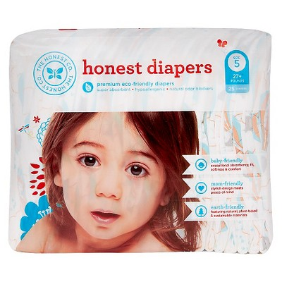 Honest Company  Diapers Balloons Jumbo Pack - Size 5  (25 Count)