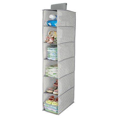 InterDesign® Chevron Narrow Hanging 6-Shelf Organizer