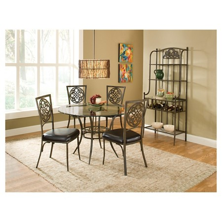 piece dining table set brown hillsdale furniture hillsdale furniture