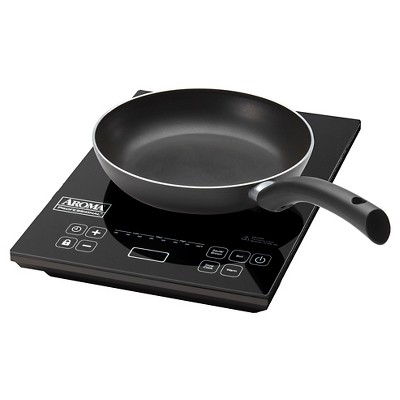 Aroma Digital Induction Cooktop with Pan