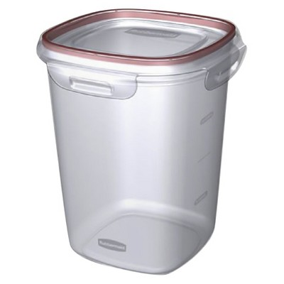 Rubbermaid Lock-its Food Storage Canister, 5.25 Cup