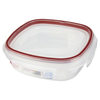Rubbermaid Lock-its Food Storage Container, 3 Cup