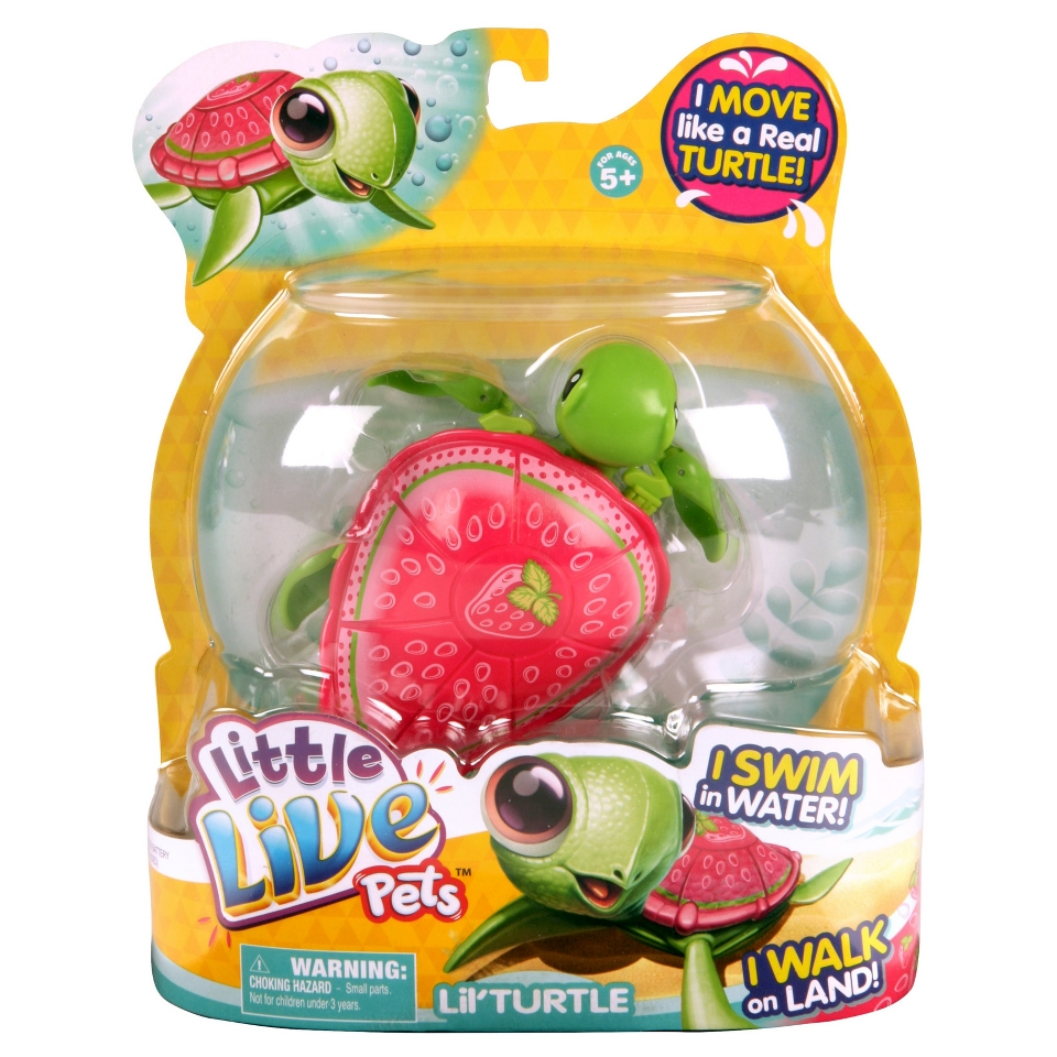 Little Live Pets Lil Turtle Pinky on PopScreen