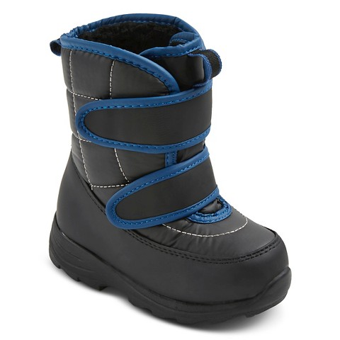 Toddler Boys' Nixon Winter Boots - Black : Target