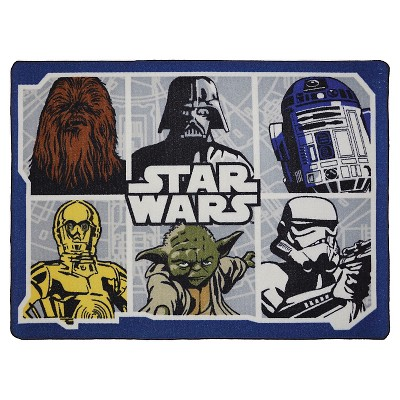 Star Wars Classic Accent Rug