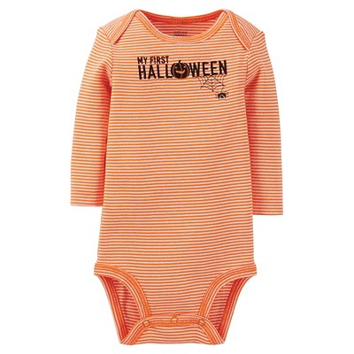 Male Child Bodysuits Just One You Fall Orange 12  MONTHS