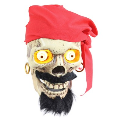 Halloween Animated Chattering Skulls - Bonebeard