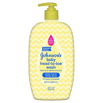 Johnson & Johnson® Baby Head-to-Toe Wash - 28oz Designer Sleeve