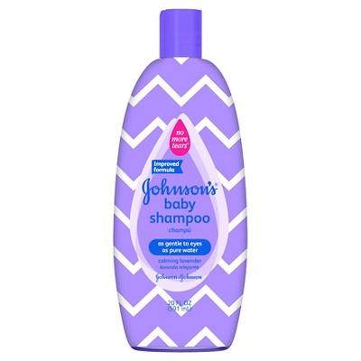 Johnson & Johnson® Baby Lavender Shampoo - 20oz Designer Sleeve