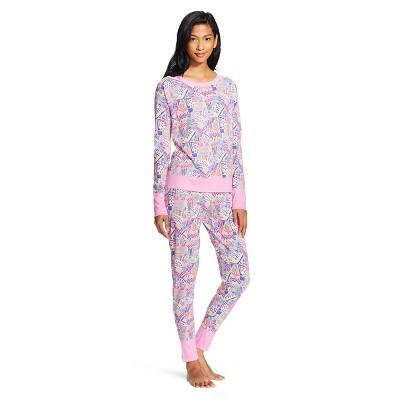 Women's Pajama Sets Pink Lavender L - Xhilaration™