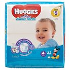 Huggies Little Movers Diaper Pants for Boys Size 4 (22 Count)