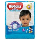 Huggies Little Movers Diaper Pants for Boys Size 5 (19 Count)
