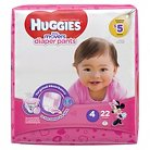 Huggies® Little Movers Girls Diaper Pants Jumbo Pack Size 4  (22 Count)