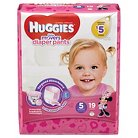 Huggies Little Movers Diaper Pants for Girls Size 5 (19 Count)